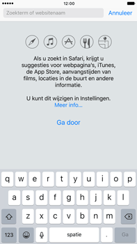 Apple iPhone 6s Plus iOS 10 - Internet - Hoe te internetten - Stap 4