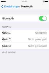 Apple iPhone 4 S - Bluetooth - Geräte koppeln - 9 / 10