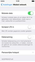 Apple iPhone 5s - Netwerk - Wijzig netwerkmodus - Stap 5