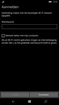 Microsoft Lumia 950 XL - WiFi - Handmatig instellen - Stap 9