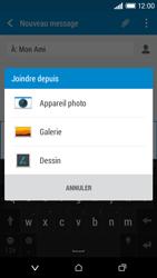 HTC Desire 610 - Contact, Appels, SMS/MMS - Envoyer un MMS - Étape 15