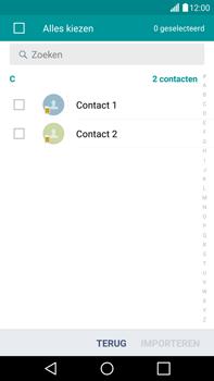 LG G4 - Contacten en data - Contacten kopiëren van SIM naar toestel - Stap 8