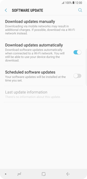 Samsung Galaxy Note9 - Software - Installing software updates - Step 6
