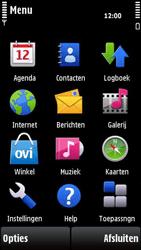 Nokia X6-00 - E-mail - e-mail versturen - Stap 2