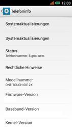Alcatel One Touch Idol Mini - Software - Installieren von Software-Updates - Schritt 6