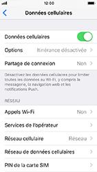 Apple iPhone SE - iOS 12 - Internet - Désactiver les données mobiles - Étape 4
