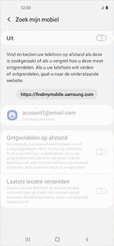 Samsung galaxy-xcover-pro-sm-g715fn - Beveiliging en ouderlijk toezicht - Zoek mijn mobiel inschakelen - Stap 6
