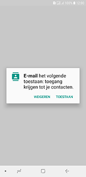 Samsung galaxy-j6-sm-j600fn-ds - E-mail - Account instellen (IMAP met SMTP-verificatie) - Stap 5