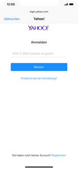 Apple iPhone XS Max - E-Mail - 032b. Email wizard - Yahoo - Schritt 6