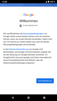Sony Xperia XZ2 Premium - Android Pie - E-Mail - Konto einrichten (gmail) - Schritt 11
