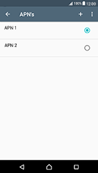 Sony Xperia X Compact (F5321) - Internet - Handmatig instellen - Stap 18