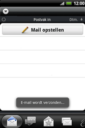 HTC A510e Wildfire S - E-mail - Hoe te versturen - Stap 13
