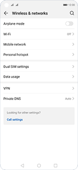 Huawei Nova 5T - WiFi - How to enable WiFi hotspot - Step 4