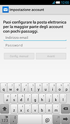 Alcatel One Touch Idol S - E-mail - Configurazione manuale - Fase 6