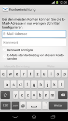 Sony Xperia Z1 - E-Mail - Konto einrichten - Schritt 5