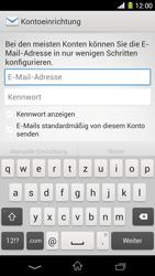 Sony Xperia Z1 - E-Mail - Konto einrichten - 5 / 21