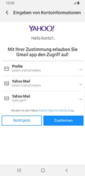 Samsung Galaxy S9 - Android Pie - E-Mail - Konto einrichten (yahoo) - Schritt 9