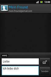 Sony Xperia Go - MMS - Erstellen und senden - 14 / 19