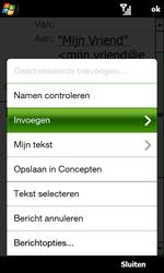 HTC T7373 Touch Pro II - e-mail - hoe te versturen - stap 11