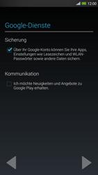 HTC One Max - Apps - Konto anlegen und einrichten - 14 / 22