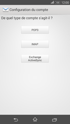 Sony Xperia E4g - E-mails - Ajouter ou modifier un compte e-mail - Étape 7