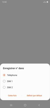 Samsung Galaxy Note20 Ultra 5G - Contact, Appels, SMS/MMS - Ajouter un contact - Étape 6