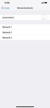 Apple iPhone XS Max - Netwerk selecteren - Handmatig een netwerk selecteren - Stap 8
