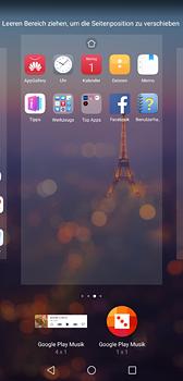 Huawei P20 - Startanleitung - Installieren von Widgets und Apps auf der Startseite - Schritt 8