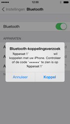Apple iPhone 5 iOS 7 - bluetooth - headset, carkit verbinding - stap 6