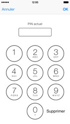 Apple iPhone 5 - Sécuriser votre mobile - Personnaliser le code PIN de votre carte SIM - Étape 7