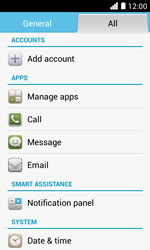 Huawei Ascend Y330 - Voicemail - Manual configuration - Step 4
