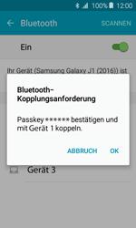 Samsung J120 Galaxy J1 (2016) - Bluetooth - Geräte koppeln - Schritt 9