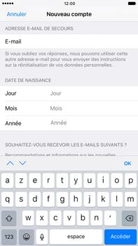 Apple Apple iPhone 6s Plus iOS 10 - Applications - Créer un compte - Étape 15