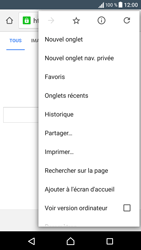 Sony Xperia E5 - Internet - navigation sur Internet - Étape 8