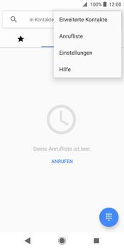 Sony Xperia XZ2 - Anrufe - Rufumleitungen setzen und löschen - 1 / 1
