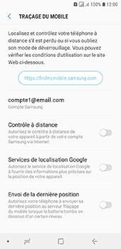 Samsung Galaxy A6 - Appareil - configurer Localiser mon appareil - Étape 6