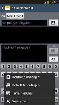 Samsung N9005 Galaxy Note 3 LTE - MMS - Erstellen und senden - Schritt 12