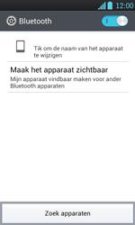 LG P700 Optimus L7 - Bluetooth - koppelen met ander apparaat - Stap 8