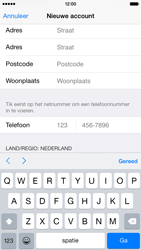 Apple iPhone 6 iOS 8 - Applicaties - Account aanmaken - Stap 22