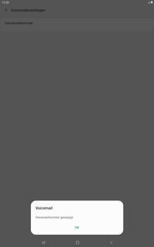 Samsung galaxy-tab-a-10-5-sm-t595-android-pie - Voicemail - Handmatig instellen - Stap 11