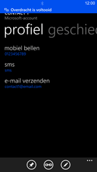Nokia Lumia 1520 - contacten, foto