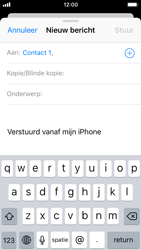 Apple iPhone SE (iOS 11) - e-mail - hoe te versturen - stap 6