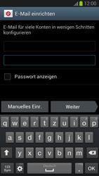 Samsung Galaxy S III - OS 4-1 JB - E-Mail - Konto einrichten - 2 / 2