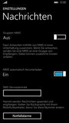 Nokia Lumia 830 - SMS - Manuelle Konfiguration - Schritt 8