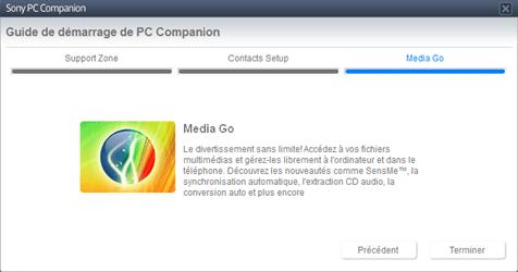 Sony Xperia Z1 - Logiciels - Installation du logiciel de synchronisation PC - Étape 9