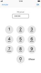 Apple iPhone 7 - iOS 12 - Securité - Modifier le code PIN de la carte SIM - Étape 7