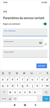 Xiaomi RedMi Note 7 - E-mail - configuration manuelle - Étape 16