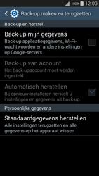 Samsung Galaxy S III Neo (GT-i9301i) - Instellingen aanpassen - Fabrieksinstellingen terugzetten - Stap 5
