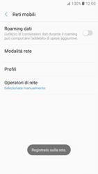 Samsung Galaxy A5 (2017) - Rete - Selezione manuale della rete - Fase 11