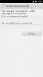 Sony LT28h Xperia ion - E-mail - Configuration manuelle - Étape 15